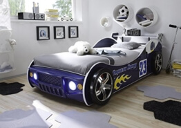 Autobett Energy 90 x 200 cm blau -