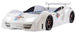 Relita GT 999 Autobett Plastik, 230 x 118 x 69 cm, weiß -