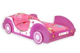Traumhaftes Autobett BUTTERFLY Kinderbett Bett Mädchenbett Kinderzimmer -