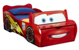 Worlds Apart 452LMN  Lightning McQueen Toddler Feature Kinderbett, 170 x 77 cm -